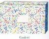 Case of 100 18 x 12 x 3 Confetti Designer Mailing Gift Boxes Item# YLB239 -- YLB239