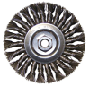 Wire Wheel Brushes for Angle Grinders -- C1100 - Image