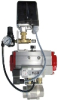Compressed Air Flow Regulating Ball Valve -- AMCV /DHS Series -- View Larger Image