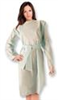 Gown with Thumb Loops, Blue -- 89308 - Image