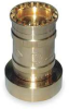 Brass Fire Hose Nozzle,1.5 In,60 GPM -- 2LYW7 - Image