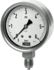 DRF26 - SS Bourdon Tube Pressure Gauge