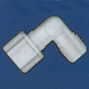 Jaco - Kynar, Nylon, And Polypropylene Tube And Hose Tube-To-MPT Elbow Fitting -- 61030 - Image