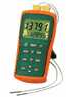 EA15 - Extech EA15 EasyView Thermocouple Thermometer - Dual Channel with Datalogger -- GO-95001-07