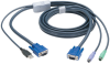 KVM FLASH CABLE VGA PS2 TO USB 16FT -- EHN428-0016