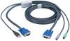 KVM FLASH CABLE VGA PS2 TO USB 16FT -- EHN428-0016 -- View Larger Image
