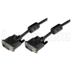 Deluxe DVI-D Dual Link DVI Cable, Male/Male w/Ferrite 1.0 ft -- CGDVI-DL-MM-1 - Image