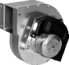 Gas Blowers for Gas-Condensing Heating -- RLB120/0034-3633 -Image