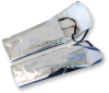 Chicago Protective Apparel Aluminized Rayon Welding & Heat-Resistant Cape Sleeves Only - 1529-AR -- 1529-AR - Image