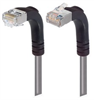 Category 6 Shielded LSZH Right Angle Patch Cable, Right Angle Up/Right Angle Down, Gray, 3.0 ft -- TRD695SZRA4GRY-3 -Image