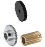Metric gears with set screw precision : JIS B 1702 Class 4