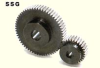 128mm PD Ground Spur Gears -- SSG2-64-Image