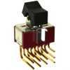 Rocker Switches -- 3004P6J1BLKM7RE-ND -Image