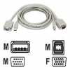 Tripp Lite - Video / USB cable - 4 pin USB Type A, HD-15 (M) -- P758-006