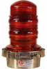 OBSTRUCTION LIGHTING FIXTURE, SINGLE, 120 VAC, RED -- 70081595