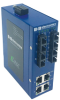 ETN UNMANAGED SWITCH 4 COPPER, 4 SINGLE-MODE SC -40° to 75°C