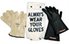 Insulated Glove Kit, Class 0, Yellow, 11