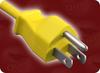 NEMA 5-15P YELLOW to ROJ SPECIAL HOME • Power Cords • North American Power Cords • 3 Conductor Power Cords -- 5170.600T -Image