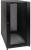 25U SmartRack Standard-Depth Rack Enclosure Cabinet with doors/side panels & shock pallet shipping -- SR25UBSP1
