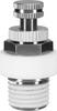 Flow control/muffler -- VFFK-C-K-M5-P -- View Larger Image