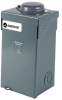 Electrical Cabinet MINI-CAB Outdoor Single-phase 120 Vac 1x 20A + 1x 20A Tandem Branches UL 67 SASD -- 1101-1128 -Image