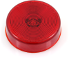 """2.5"""" Sealed Round LED Clearance/Marker Light 47766, Red Lens -- 47766 -- View Larger Image"""