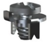 Low Profile 6-32 Thread-w/ Screw Assembled -- 1201 - Image
