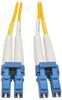 Duplex Singlemode 8.3/125 Fiber Patch Cable (LC/LC), 20 m (65 ft.) -- N370-20M - Image