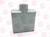 """HUBBELL 2FS-3 ( STD LOC 2GANG 1"""" FS FITT(SF) ) -Image"""