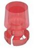 T-1 3/4 Lens Cap-Red -- 8662 - Image