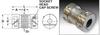 Fairloc® Hub Bellows Couplings (metric) -- S50FP9MFBC0821 -Image