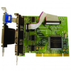 4 Port RS232 PCI Serial Port Card with LPT Parallel Port -- UC-414