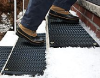Snow Melting Hot Stair Treads