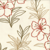 Floral Embroidery Fabric -- K-Hibiscus