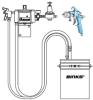 Diaphram Pump Spray Outfit -- DVP Wall Mounted HVLP Outfit