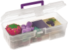 Case, Craft Supply Box 6 x 12 x 4 -- 09912CLPUR