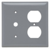 Standard Wall Plate -- SP128-GRY - Image
