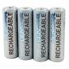 Lenmar AA 4 Pack 2700mAh Ni-MH Batteries Plus Case -- PRO427