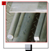Flat Aluminum Stock -- 3/4 X 4