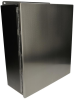 Stainless steel enclosure Wiegmann BN4161406CHSS -- View Larger Image