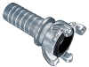 Zinc Plated Four Lug Hose Coupling -Image