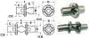 Inverted Zero-Backlash Metal Universal Joints (inch) -- S57PY4-SFU0312 - Image