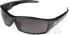 Edge Reclus Polarized Safety Glasses with Black Frame Gray -- TSRG216