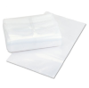 Clear Disposable Plastic Coin Bag, 6mil, 10 x 18, 100/Pack -- 58011