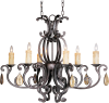 Richmond 6-Light Chandelier with Crystals -- 31009CU/CRY094