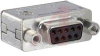 connector,filtered d-sub adapter,9 pin cont plug to 9 socket cont recept,820pF -- 70144876