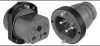 Flanged Female Plug -- TSB/6 - Image