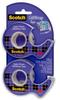 3M Scotch 15DM-2 GiftWrap Clear Office Tape - 3/4 in Width x 600 in Length - 80186 -- 051131-80186