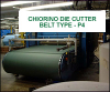Die Cutting Belts -- Type P4, P4/N & P4 P