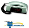 Conair Clock Radio Telephone -- TCR200MS